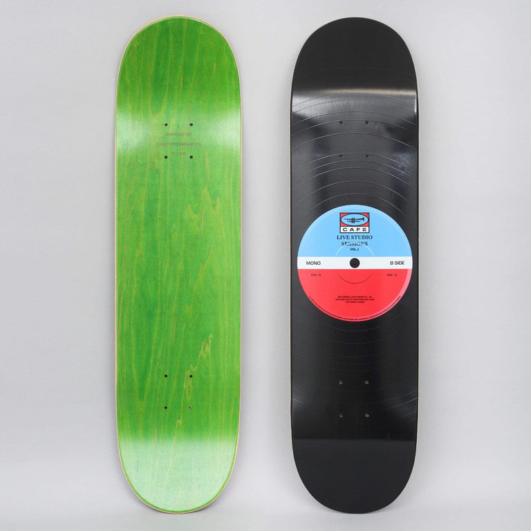 Skateboard Cafe 8.5 45 Skateboard Deck Blue / Red