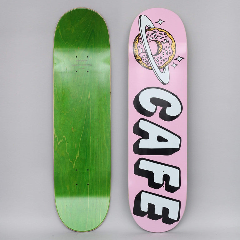 Skateboard Cafe 8.5 Planet Donut Skateboard Deck Pink
