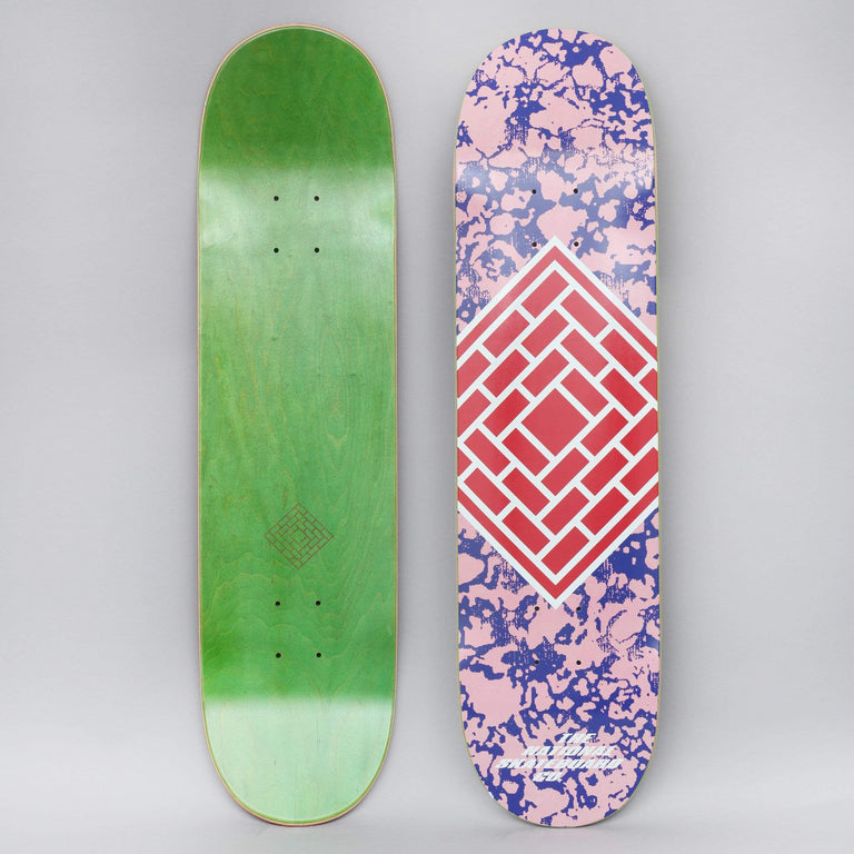 The National 8 Classic Skateboard Deck Pink