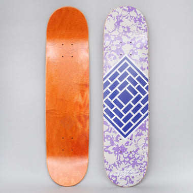 The National 8 Classic Skateboard Deck Purple