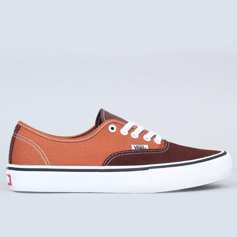 Vans Authentic Pro Shoes Potting Soil / Leather Brown