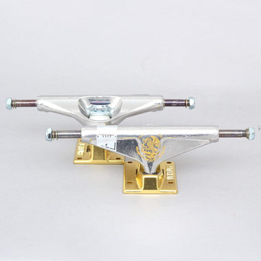 Venture 5.2 High P-Rod Golden Eagle V-Titaniums Skateboard Trucks Silver / Gold