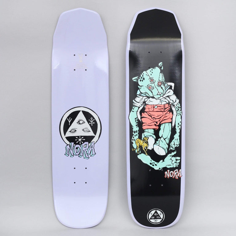 Welcome 8.125 Nora Teddy On Wicked Princess Skateboard Deck Lavender Dip