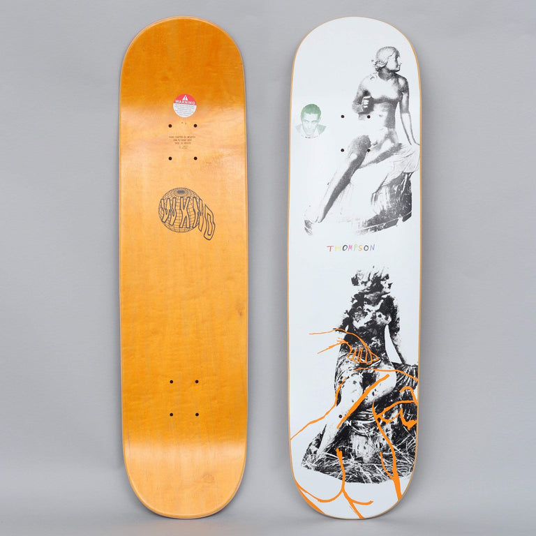WKND 8.25 Trevor Thompson Death Dance Skateboard Deck White