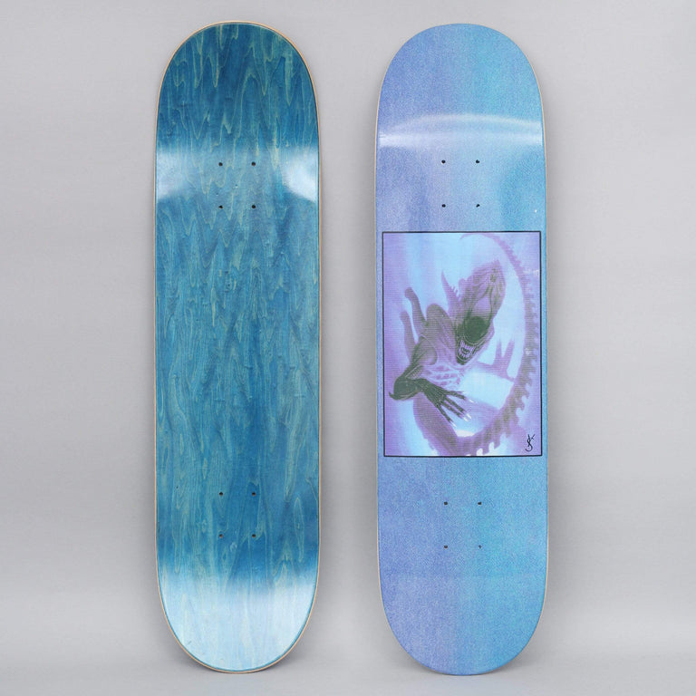 Yardsale 8.2 Evolution A Skateboard Deck Blue
