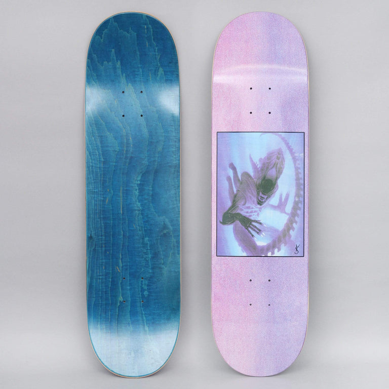 Yardsale 8.5 Evolution B Skateboard Deck Purple