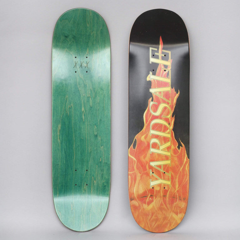 Yardsale 8.6 Fuego Skateboard Deck Black