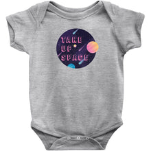 Load image into Gallery viewer, Take Up Space Onesie-Center Front-Heather-6M-AllGo