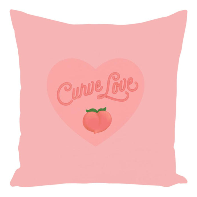 Curve Love Premium Pillow-Without Zipper-Spun Polyester-14x14 inch-AllGo