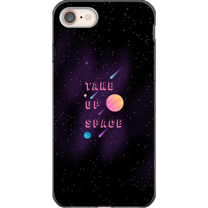 Take Up Space Phone Case-Premium Flexi Case-iPhone 8-AllGo