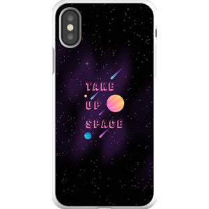 Take Up Space Phone Case-Premium Flexi Case-iPhone X-AllGo