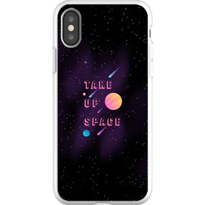 Take Up Space Phone Case-Premium Flexi Case-iPhone XS-AllGo