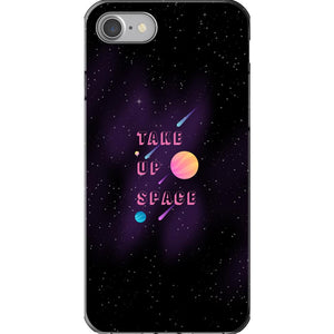 Take Up Space Phone Case-Premium Flexi Case-iPhone 7-AllGo