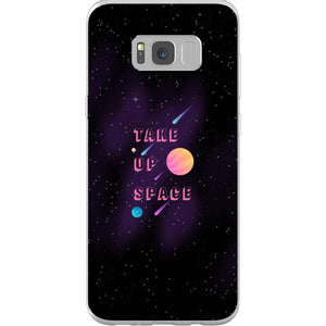 Take Up Space Phone Case-Premium Flexi Case-Samsung Galaxy S8 Plus-AllGo