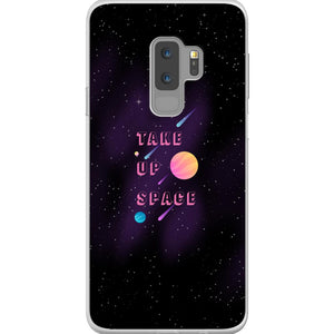Take Up Space Phone Case-Premium Flexi Case-Samsung Galaxy S9 Plus-AllGo