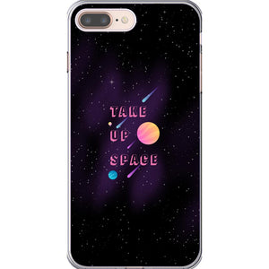Take Up Space Phone Case-Premium Flexi Case-iPhone 8 Plus-AllGo