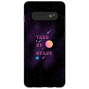 Take Up Space Phone Case-Premium Flexi Case-Samsung Galaxy S10 Plus-AllGo