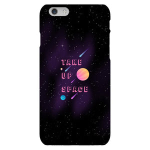 Take Up Space Phone Case-Premium Glossy Clear Case-iPhone 6s-AllGo