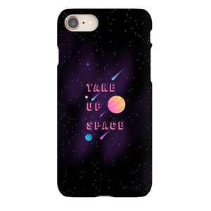 Take Up Space Phone Case-Premium Glossy Snap Case-iPhone 8-AllGo
