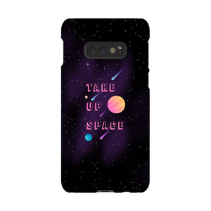 Take Up Space Phone Case-Premium Glossy Snap Case-Samsung Galaxy S10 Lite-AllGo