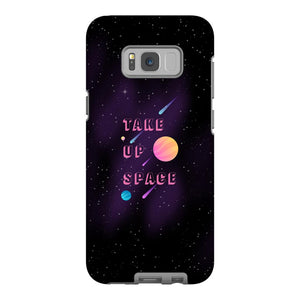 Take Up Space Phone Case-Premium Glossy Tough Case-Samsung Galaxy S8-AllGo