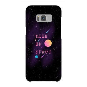 Take Up Space Phone Case-Premium Glossy Snap Case-Samsung Galaxy S8-AllGo