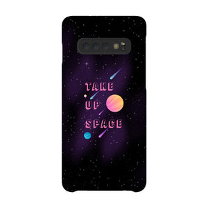 Take Up Space Phone Case-Premium Glossy Snap Case-Samsung Galaxy S10-AllGo