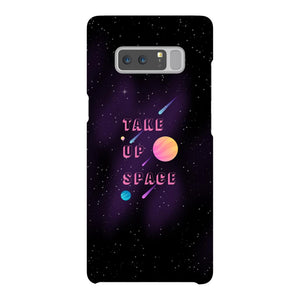 Take Up Space Phone Case-Premium Glossy Snap Case-Samsung Galaxy Note 8-AllGo