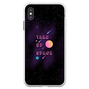 Take Up Space Phone Case-Premium Flexi Case-iPhone XS Max-AllGo