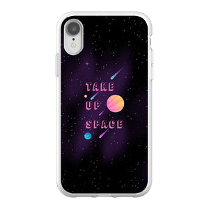 Take Up Space Phone Case-Premium Flexi Case-iPhone XR-AllGo