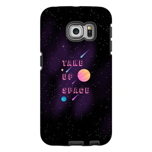 Take Up Space Phone Case-Premium Glossy Tough Case-Samsung Galaxy S6 Edge-AllGo
