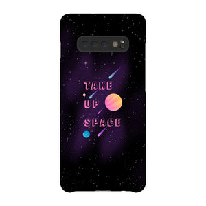 Take Up Space Phone Case-Premium Glossy Snap Case-Samsung Galaxy S10 Plus-AllGo