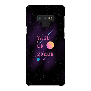 Take Up Space Phone Case-Premium Glossy Snap Case-Samsung Galaxy Note 9-AllGo