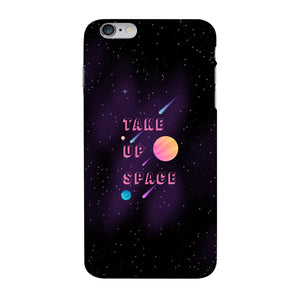 Take Up Space Phone Case-Premium Glossy Clear Case-iPhone 6s Plus-AllGo