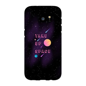 Take Up Space Phone Case-Premium Glossy Snap Case-Samsung Galaxy S7 Edge-AllGo