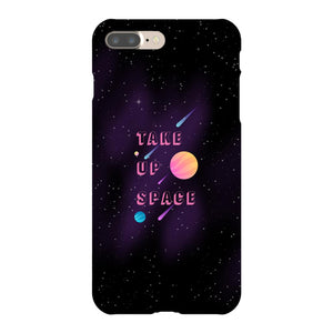 Take Up Space Phone Case-Premium Glossy Clear Case-iPhone 7 Plus-AllGo