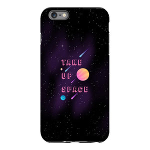 Take Up Space Phone Case-Premium Glossy Tough Case-iPhone 6 Plus-AllGo