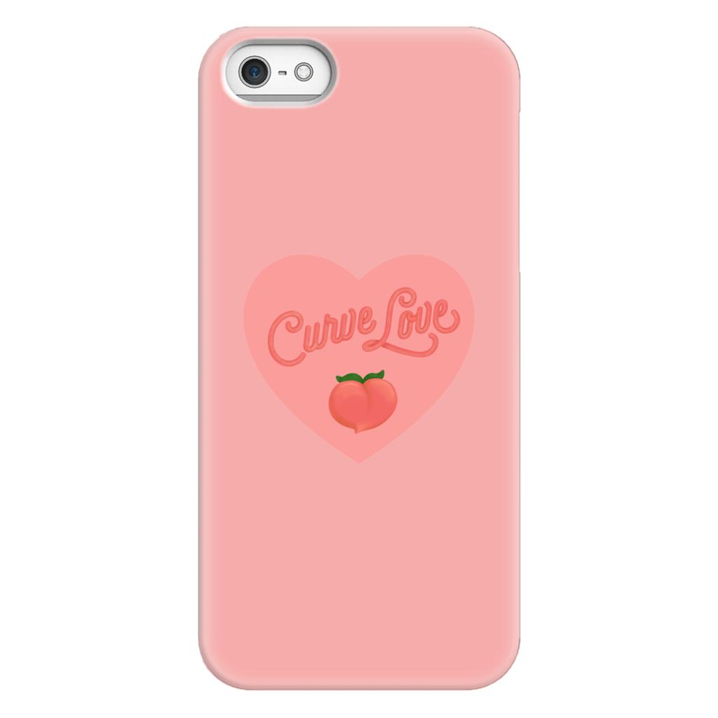 Curve Love Phone Case-Premium Matte Snap Case-iPhone 5/5s/SE-AllGo