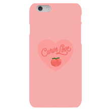 Load image into Gallery viewer, Curve Love Phone Case-Premium Matte Clear Case-iPhone 6s-AllGo