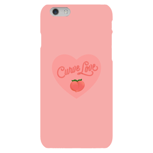 Curve Love Phone Case-Premium Matte Clear Case-iPhone 6s-AllGo