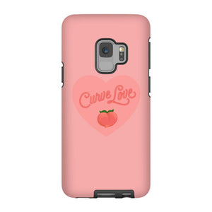 Curve Love Phone Case-Premium Matte Tough Case-Samsung Galaxy S9-AllGo