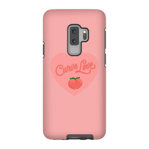 Curve Love Phone Case-Premium Matte Tough Case-Samsung Galaxy S9 Plus-AllGo