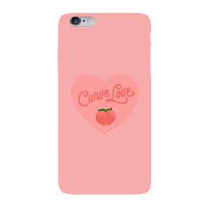 Curve Love Phone Case-Premium Matte Clear Case-iPhone 6s Plus-AllGo