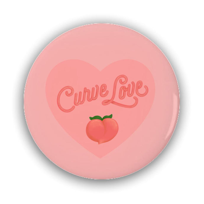 Curve Love Pin-Back Buttons--AllGo
