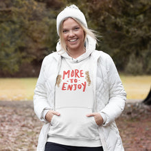 Load image into Gallery viewer, More to Enjoy Classic Fit Pullover Hooded Sweatshirt-Sweatshirts-AllGo