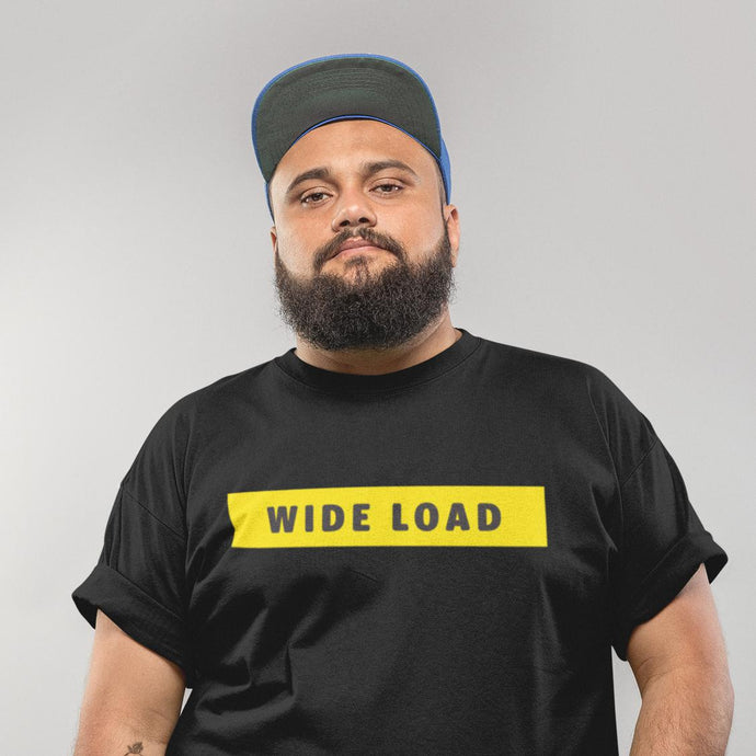 WIDELOAD Classic Fit Tagless T-Shirt-Shirts-AllGo