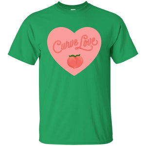 Curve Love Classic Fit Cotton T-Shirt in Irish Green from AllGo's merch store featuring plus size statement apparel and more