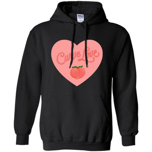 Curve Love Classic Fit Hoodie Sweatshirt in Black from AllGo's merch store featuring plus size statement apparel and more