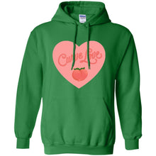 Load image into Gallery viewer, Curve Love Classic Fit Hoodie Sweatshirt in Irish Green from AllGo's merch store featuring plus size statement apparel and more