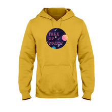Load image into Gallery viewer, Take Up Space Classic Fit Pullover Hooded Sweatshirt-Sweatshirts-Gold-S-AllGo